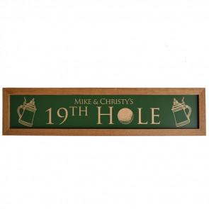 19th Hole Sign